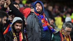 Ausschreitungen vor spanischem Pokalfinale