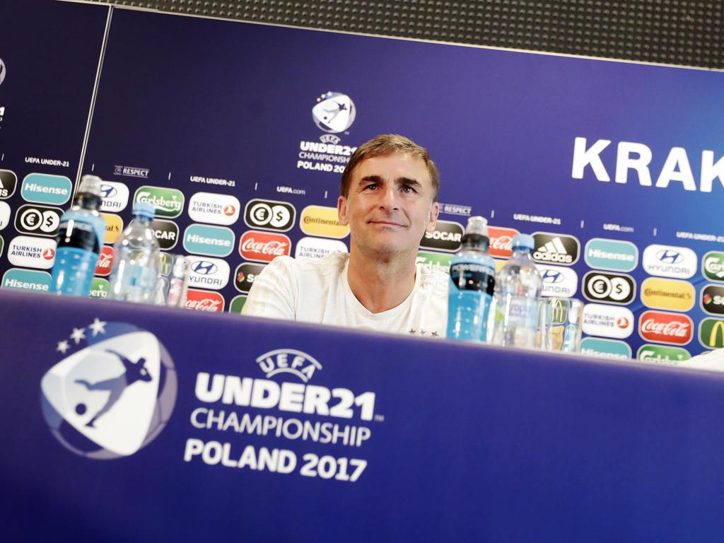 Stefan Kuntz erreichte mit der deutschen U21-Nationalmannschaft das EM-Finale