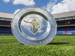 De Johan Cruijff Schaal, een dag voor het duel tussen landskampioen Feyenoord en bekerwinnaar Vitesse (05-08-2017).