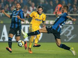 Juventus gab in Bergamo eine 2:0-Führung noch aus der Hand