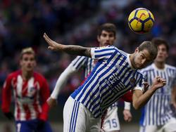 Die Real Sociedad gewann das Heimspiel gegen Atlético Madrid