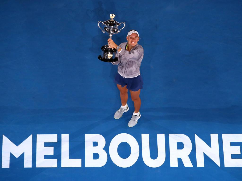 Caroline Wozniacki gewinnt den ersten Grand Slam des Jahres