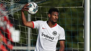 Sébastien Haller will mit Eintracht Frankfurt hoch hinaus