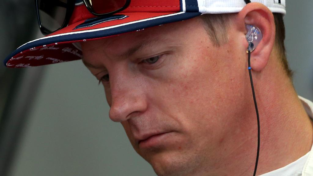 Kimi Räikkönen hatte in Italien kein Glück