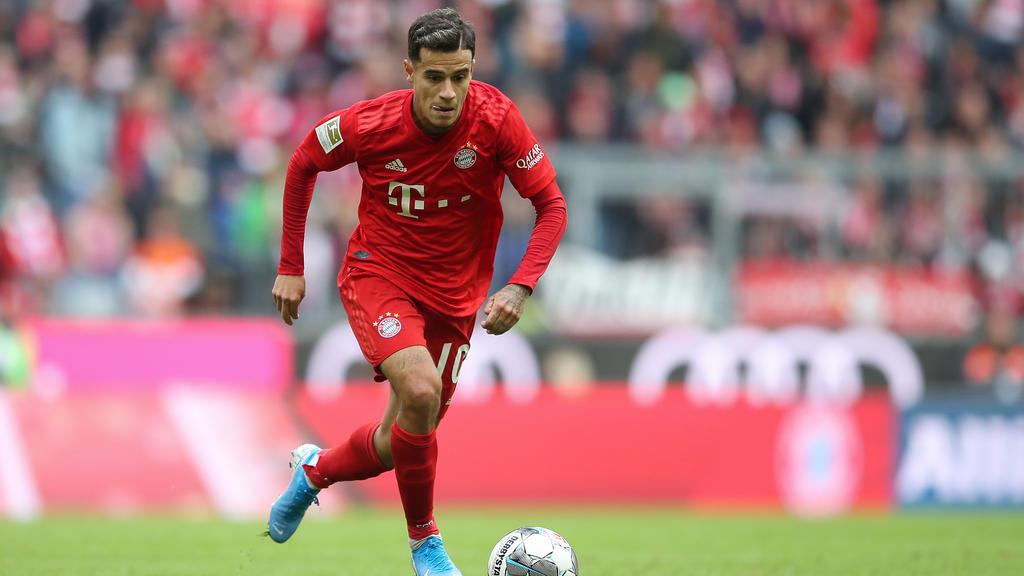 Ein Verbleib von Philippe Coutinho beim FC Bayern deutet sich an