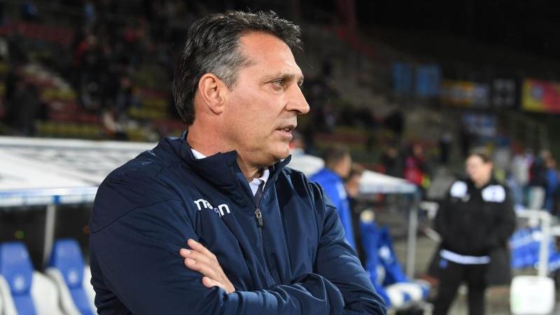 Alois Schwartz konterte Stuttgarts Trainer Tim Walter