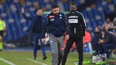 Einstand bei SSC Neapel vergeigt: Gennaro Gattuso