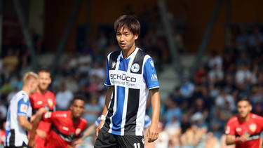 Hat bei Arminia Bielefeld einen Vertrag bis 2024 unterschrieben: Masaya Okugawa