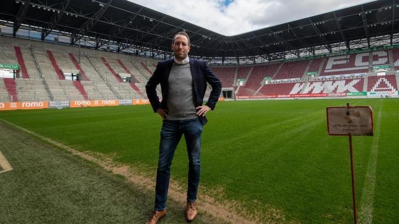 Michael Ströll, Geschäftsführer des FC Augsburg