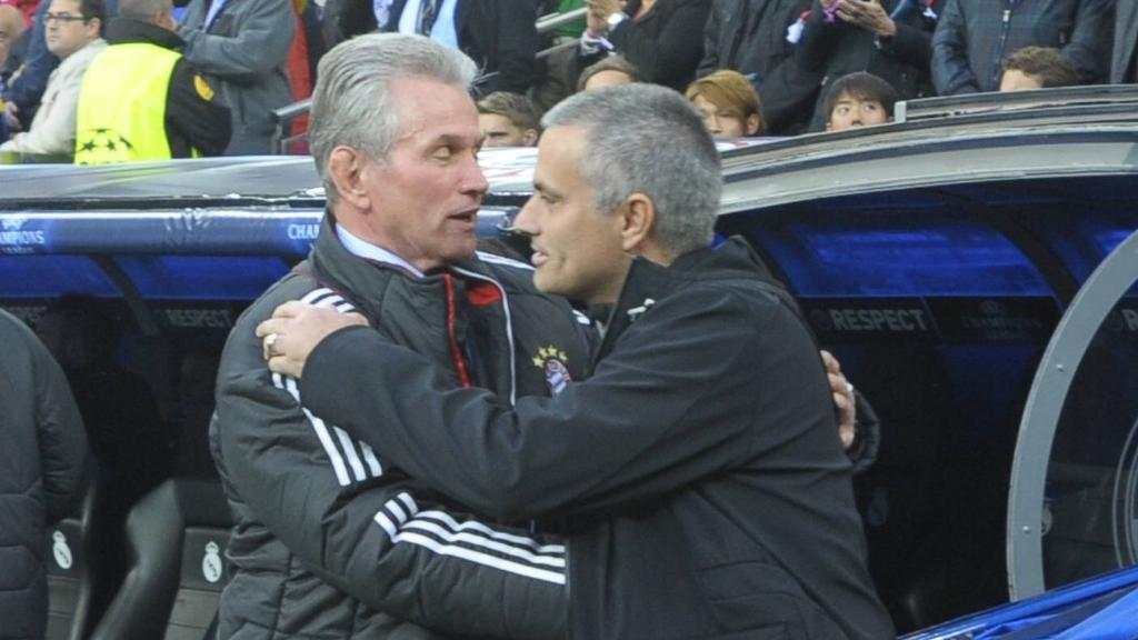 José Mourinho weinte nach einer bittere Pleite gegen den FC Bayern