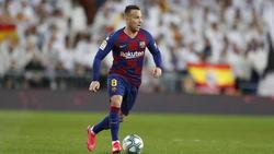 Arthur wechselt vom FC Barcelona zu Juventus Turin