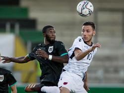 Nichts zu holen gab's für Österreichs U21-Auswahl gegen Albanien