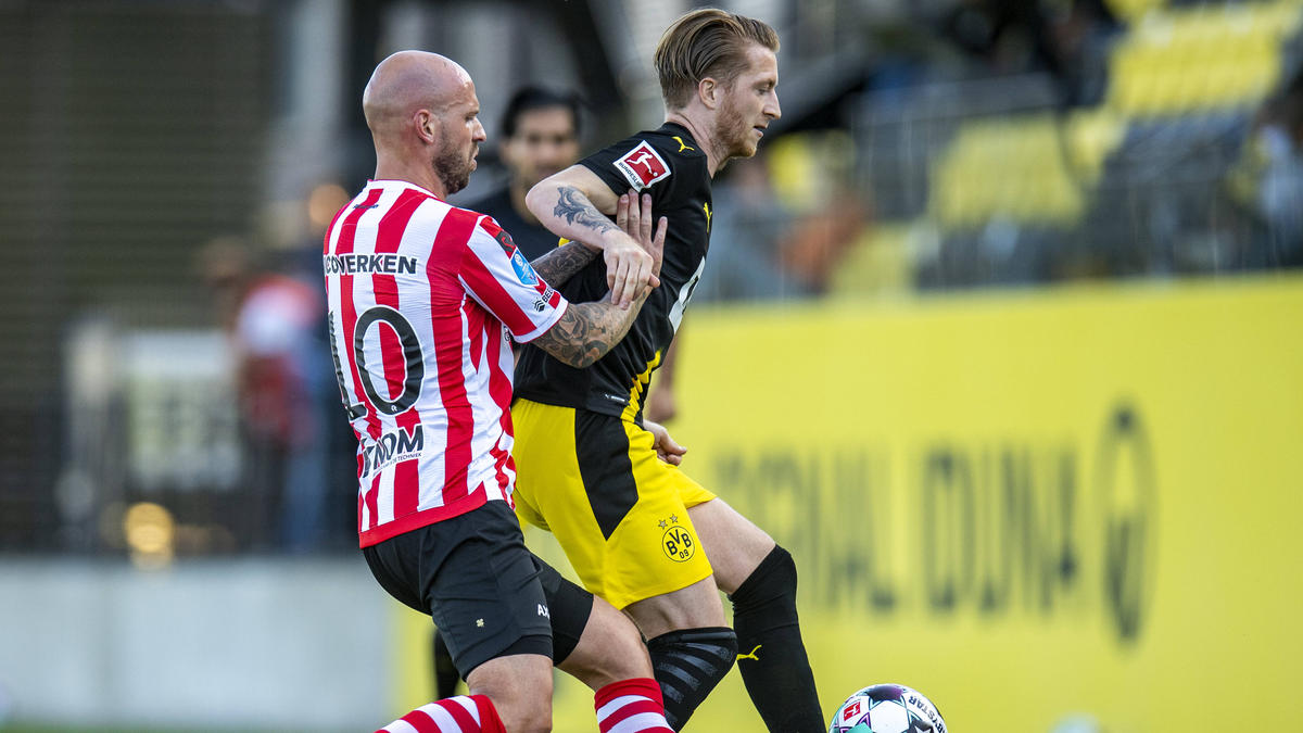 Der BVB besiegte Sparta Rotterdam - unter anderem dank eines Treffers von Reus