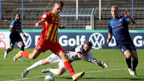 Der SC Paderborn zog mühelos in die zweite Runde des DFB-Pokals ein