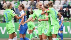 Double-Gewinner Wolfsburg bezwingt Aufsteiger Meppen 2:0