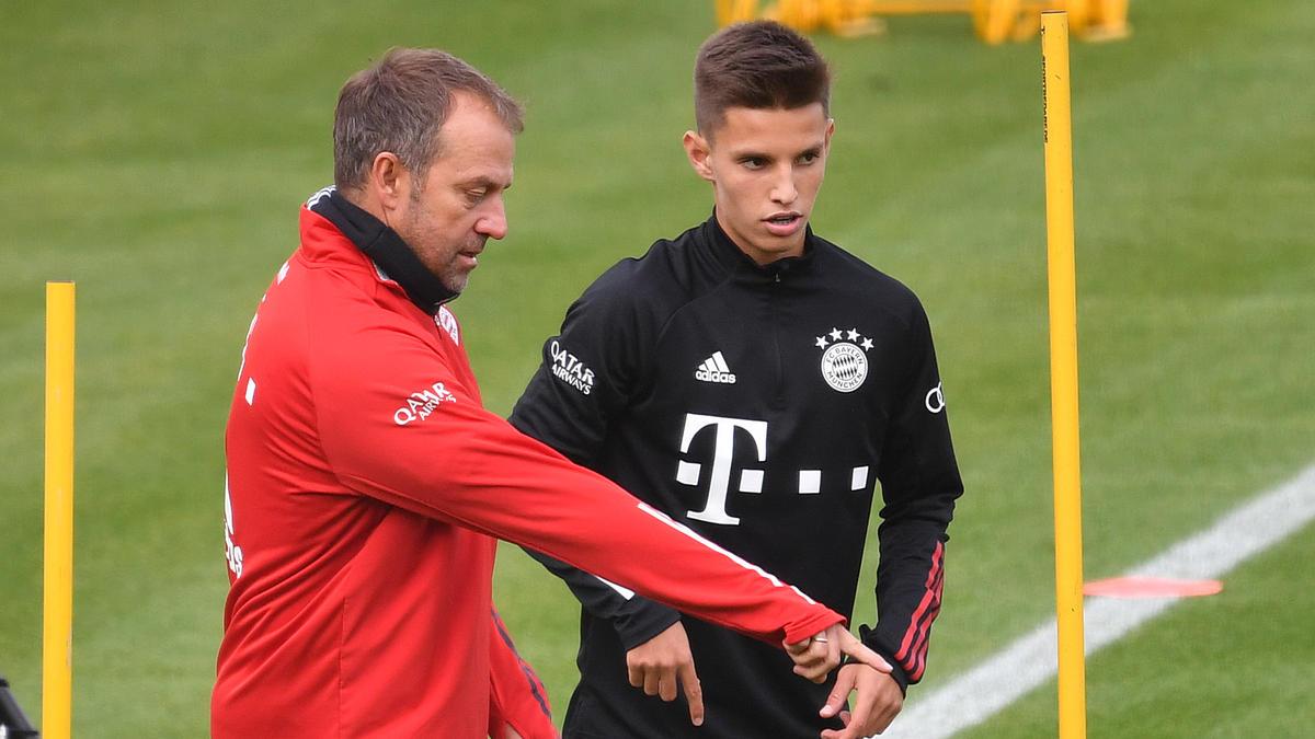 FC-Bayern-Trainer Hansi Flick schwärmte von Tiago Dantas