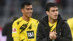 Gio Reyna und Reinier (l.) spielen derzeit gemeinsam für den BVB