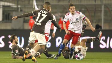 Der FC St. Pauli feiert den fünften Sieg in Folge