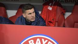 Lucas Hernández sitzt beim FC Bayern oft nur auf der Bank