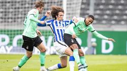 Hertha BSC und Gladbach trennten sich mit einem Remis