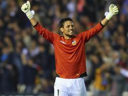 Vier Wochen Verletzungspause für Diego Alves