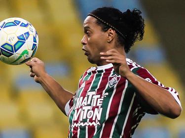 Ronaldinho sólo puso peligro a través de balones parados. (Foto: Getty)