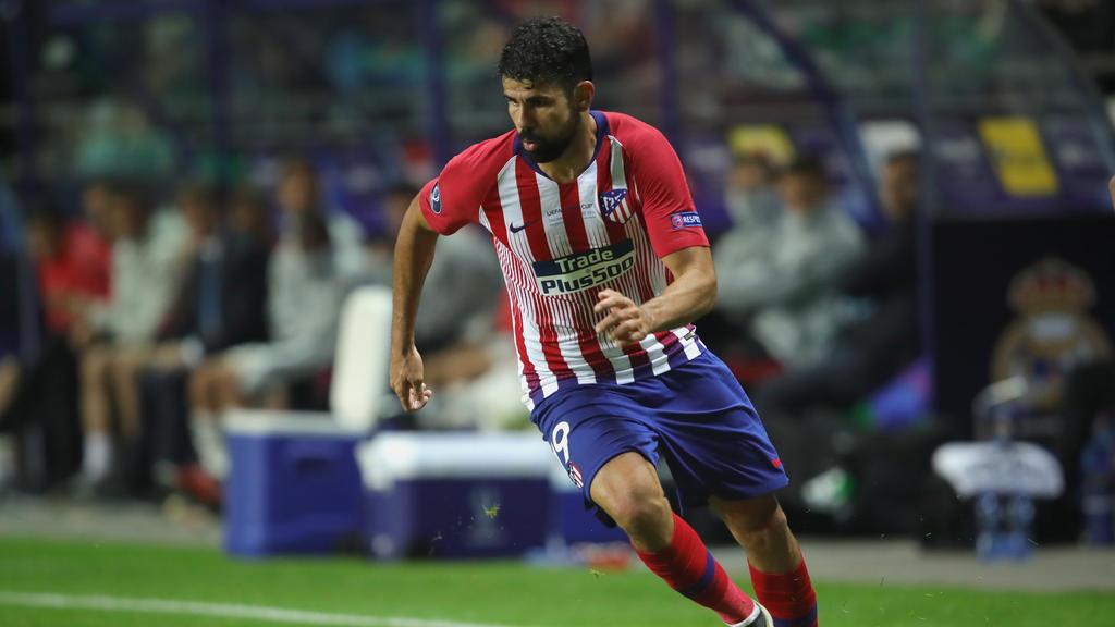 Diego Costa spielt seit Januar wieder in Madrid