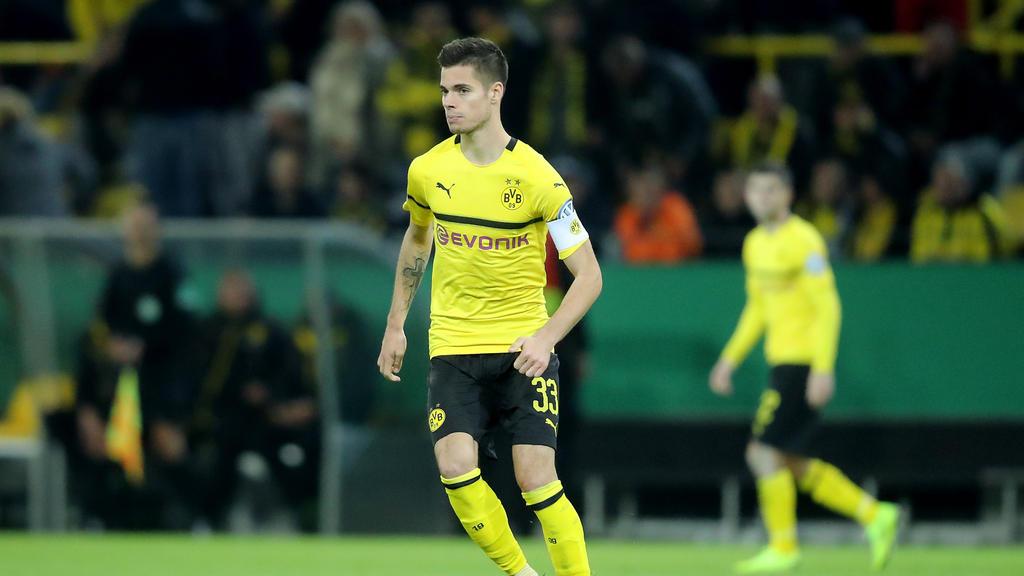 Julian Weigl führte den BVB gegen Berlin als Kapitän aufs Feld