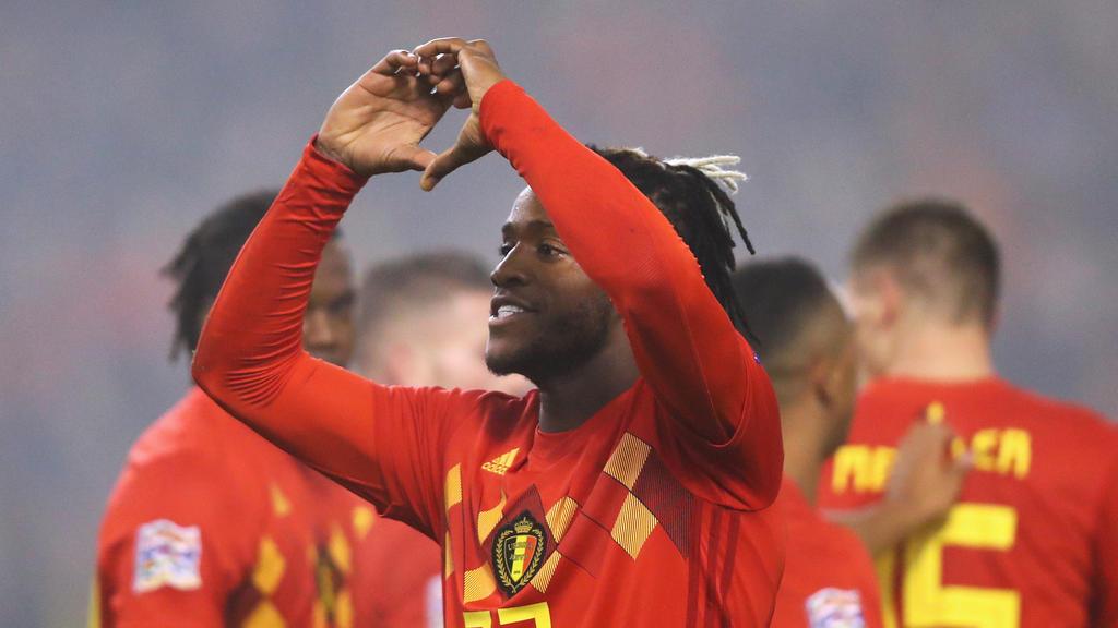Michy Batshuayi konnte im Spiel der Belgier überzeugen