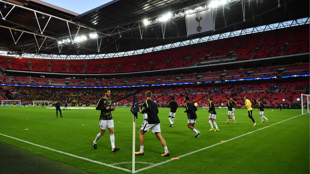 Die Tottenham Hotspur spielen auch im Februar noch in Wembley