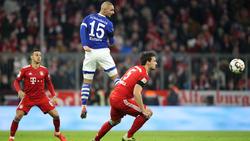 Ahmet Kutucu erzielt beim FC Bayern den zwischenzeitlichen Ausgleich für Schalke 04