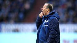 Huub Stevens konnte den FC Schalke 04 noch nicht zu einem Sieg führen