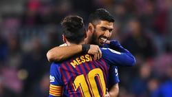 Messi y Suárez marcaron dos verdaderas obras de arte.
