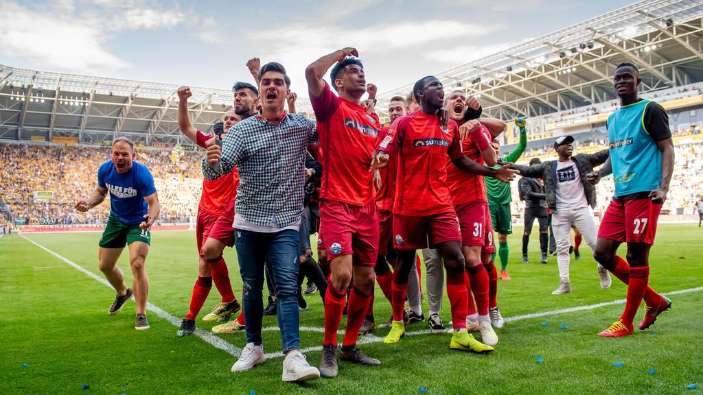 Der SC Paderborn freut sich auf die Bundesliga