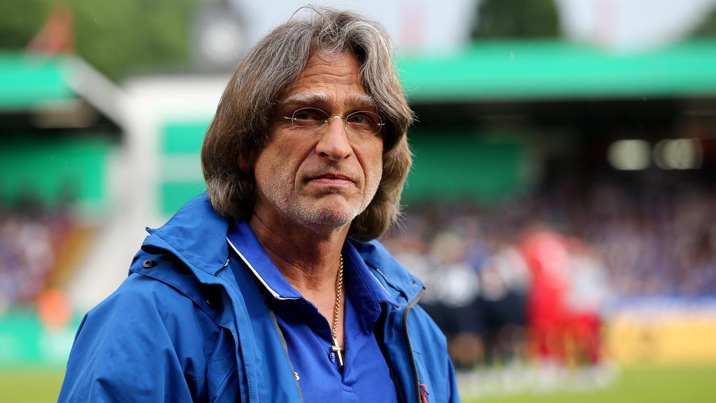Norbert Elgert trainierte Leroy Sané von 2012 bis 2015
