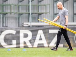 Als erstes Ziel fasste El Maestro die Europa-League-Quali ins Auge