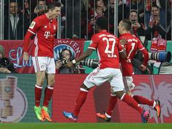 Die Bayern-Asse treffen im Halbfinale auf Lotte oder Dortmund