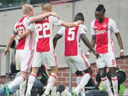 El Ajax aprovechó la falta de movilidad de la defensa francesa. (Foto: Getty)