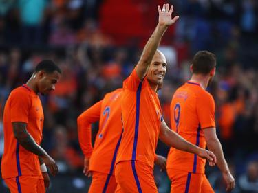 Arjen Robben steuerte einen Treffer und eine Vorlage zum Sieg der Elftal bei