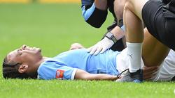 Leroy Sané verletzte sich Anfang August schwer