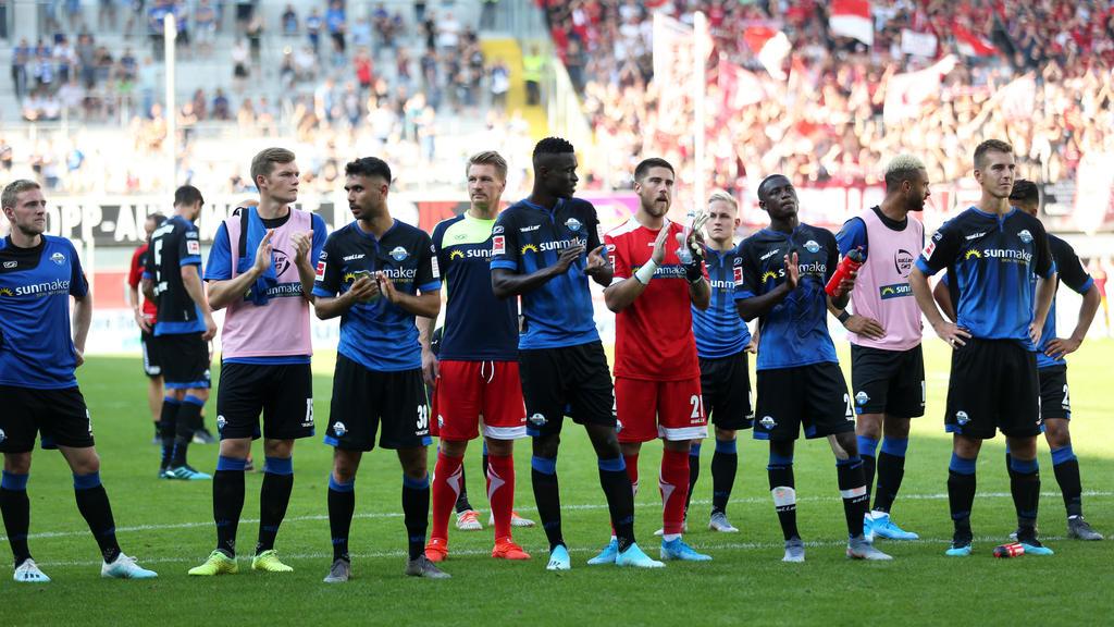 Der SC Paderborn ist mit zwei Niederlagen in die Bundesliga gestartet