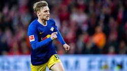 Emil Forsberg sieht RB Leipzig noch hinter BVB und FC Bayern