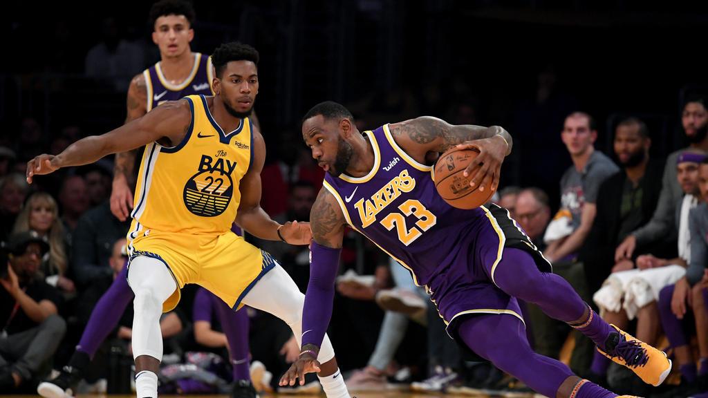 Lakers-Star LeBron James zeigte den Golden State Warriors die Grenzen auf