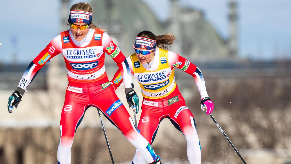 Therese Johaug sicherte sich einen klaren Sieg