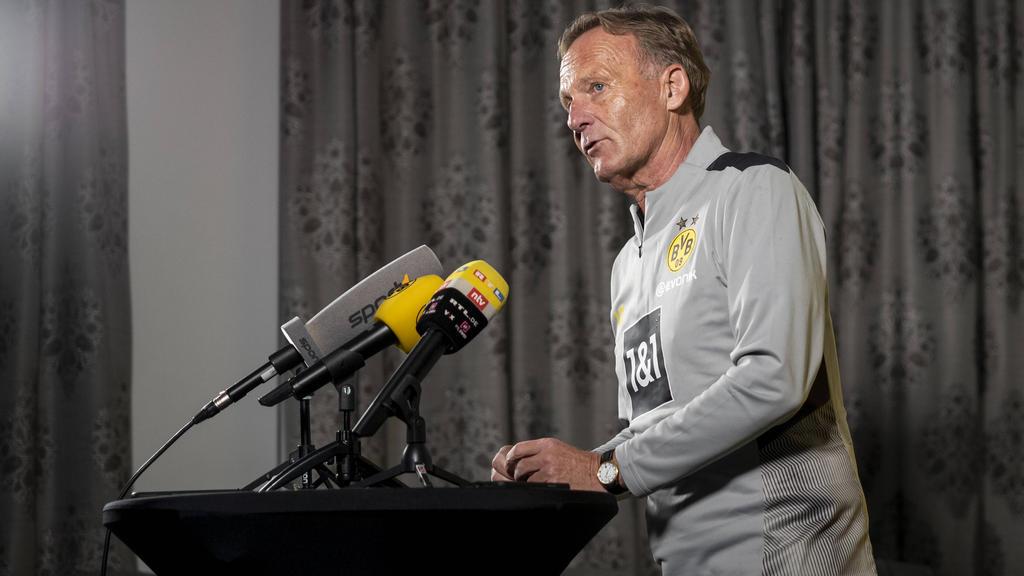 Hans-Joachim Watzke schließt einen weiteren Neuzugang beim BVB nicht aus