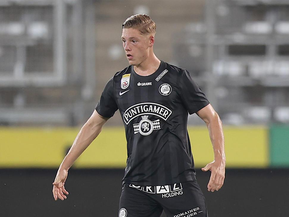 Ex-Salzburg-Talent Alexander Prass debütierte für Sturm in der Bundesliga