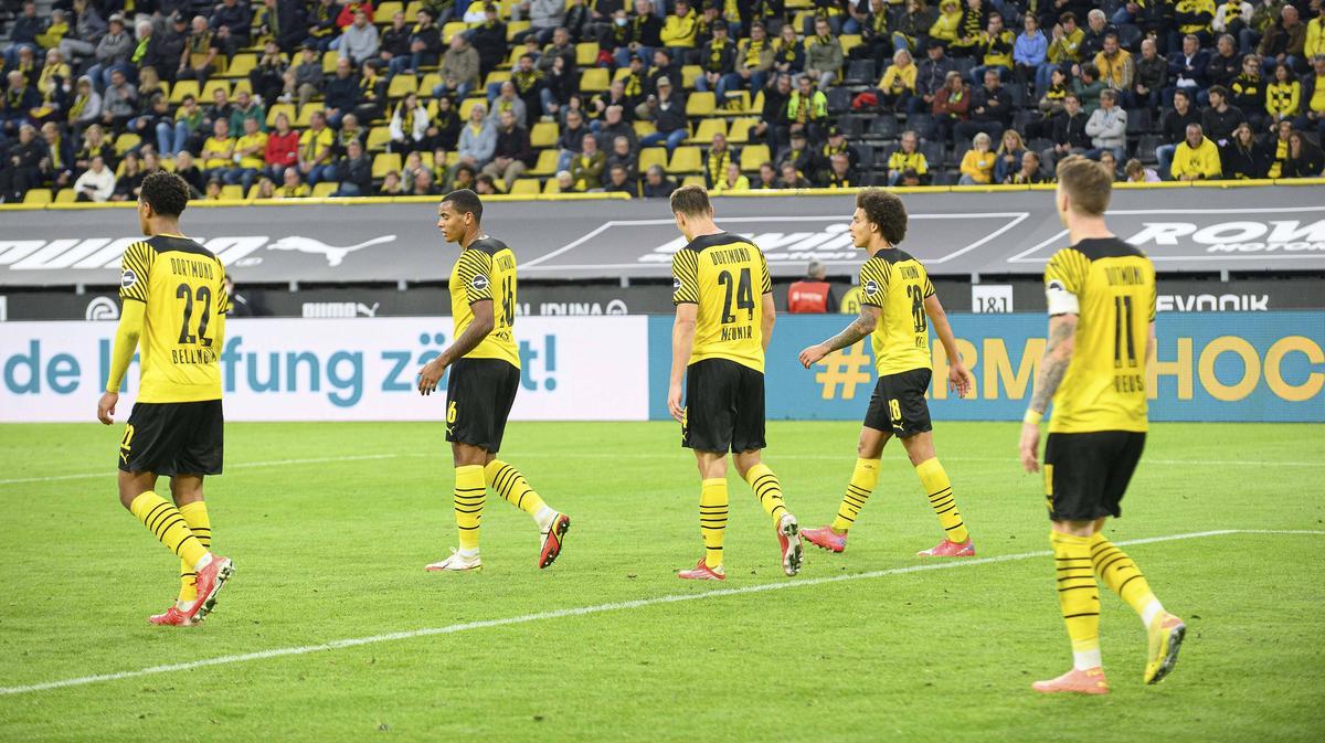 Borussia Dortmund kassiert zu viele Gegentore