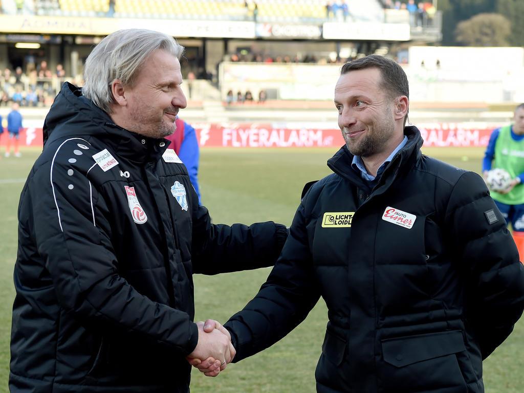 Feldhofer (rechts) und sein Spezi Schopp
