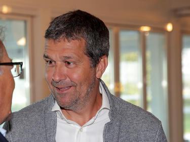 VdF-Boss Max Zirngast befragt die Bundesliga-Profis