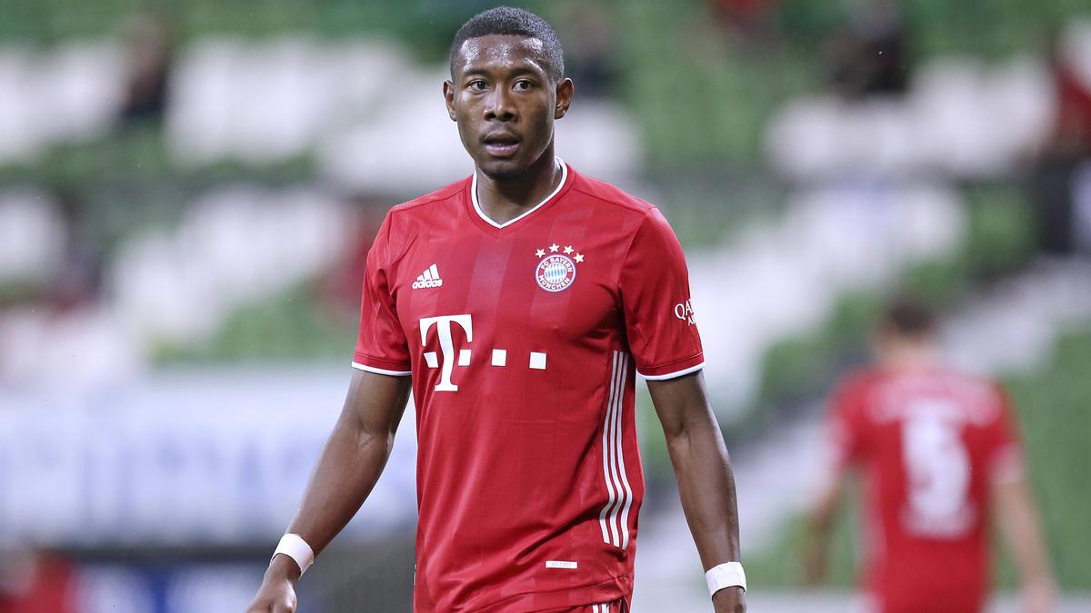David Alaba steht beim FC Bayern nur noch bis 2021 unter Vertrag
